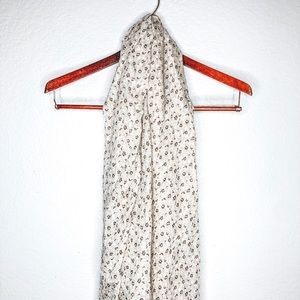 Urban Outfitters Floral Scarf